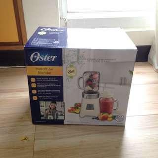 Oster 經典Ball Jar隨鮮瓶果汁機(白色)
