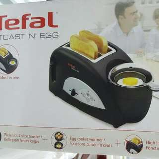 Brand New Tefal Toast & Egg