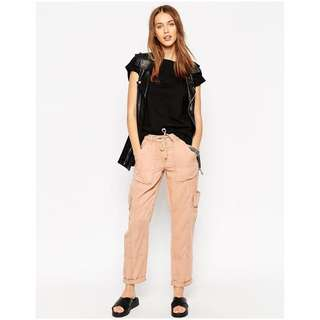 ASOS Ultimate Utility Trouser With Roll Hem