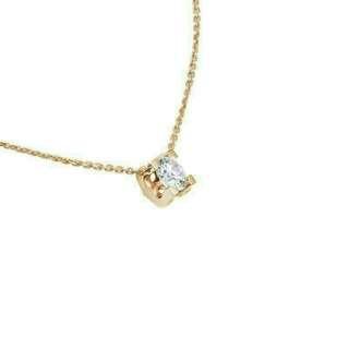 🚚 34分鑽石項鍊