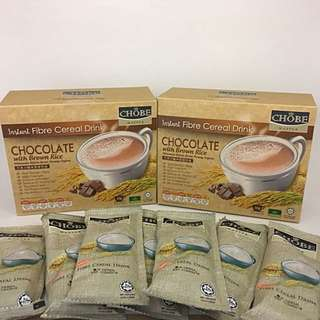 Instant Cereal CHOCOLATE With Brown Rice ( 2 BOXES PROMO )