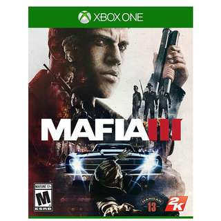 Brand New Sealed Mafia 3 For XBOX One Xbone