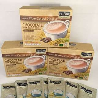 Instant Cereal CHOCOLATE With Brown Rice ( 3 BOXES PROMO )