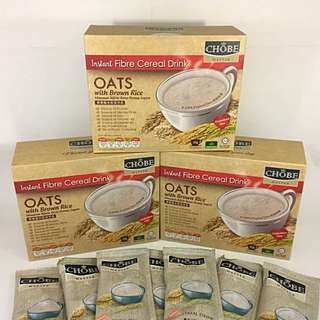 Instant Cereal OATS With Brown Rice ( 3 BOXES PROMO )