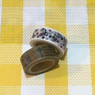 🇯🇵紙膠帶分裝-愛麗絲夢遊仙境系列 一單100cm