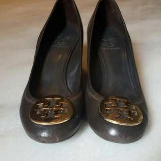 SALE Authentic Tory Burch Sally Wedge Size 7 / 37