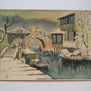 水彩画39×53 Painting