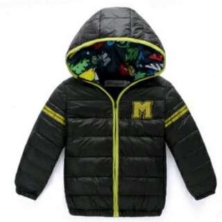Winter Coat Jacket Unisex For Kids