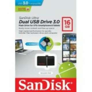 otg flashdisk ultra dual drive USB 3.0 16GB