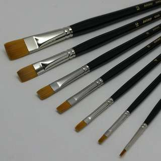 Ashley A44 Acrylic Painting Brushes
