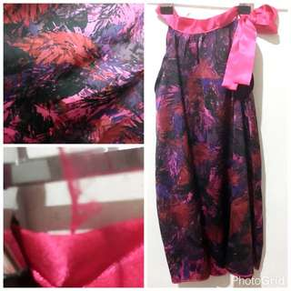 Silky Dress, Can Be Used As Cover Up Over Swim Suit. P100.*
