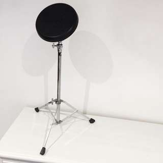 """8"""" Drum Practice Pad with Stand"""