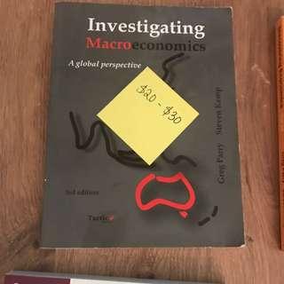 Investigating Macroeconomics