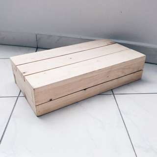 Dessert Tab Props - Large Rectangular Wooden Crates