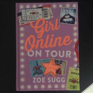 Zoe Sugg Girl Online: On Tour Hardcover Book