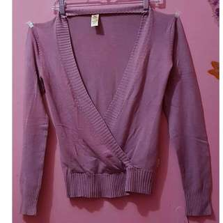 Preloved Cardigan Soda Girl Pink