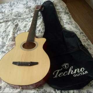 Techno Acoustic Guitar