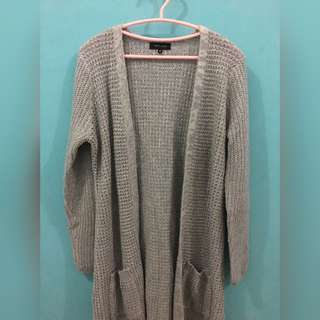 New Look Knitted Long Cardi/Coat