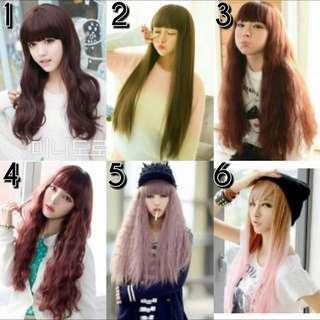 Korea Wigs [PRE ORDER ITEMS]