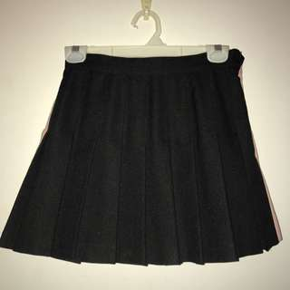 Black American Apparel Tennis Skirt
