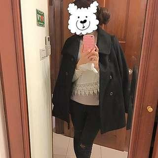 經典羊毛大衣(韓版)✨