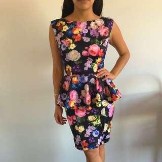 The Peplum Dress