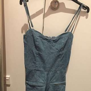 Ruby Boutique Denim Jumpsuit