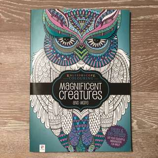 Kaleidoscope Colouring Magnificent Creatures & More By Hinkler