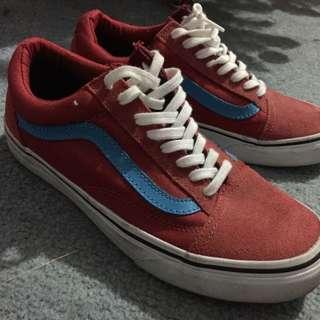 Red/Blue Vans