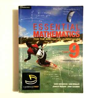 Cambridge Essential Mathematics Year 9 Textbook