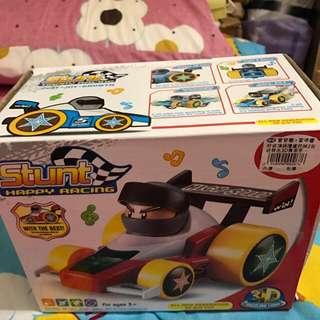 兒童玩具-3D聲光賽車手