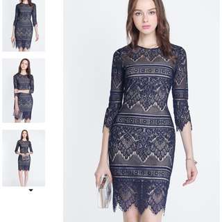 Bijou Lace Dress Size L Brand New