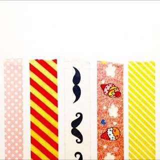 Washi Tape Samples
