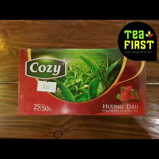 Cozy Strawberry Flavored Tea
