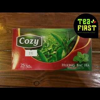 Cozy Mint Flavored Tea