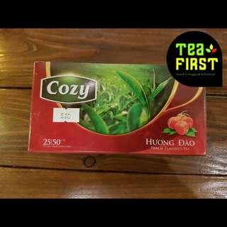 Cozy Peach Flavored Tea