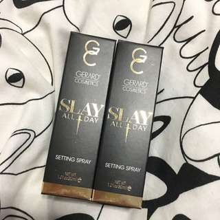 Gerard Cosmetics Slay All Day Setting Spray