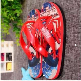 Children Spider-Man Shoes Flip flop Non Slipper
