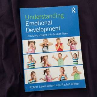 CLD 205: Understanding Emotional Development