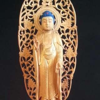 正印度老山檀香木,台灣師父敬雕