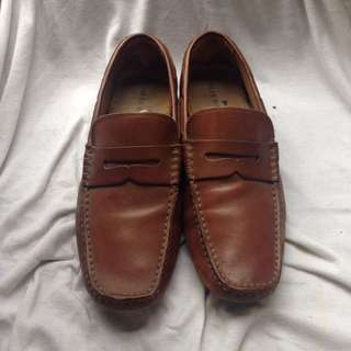 Marks & Spencer (Blue Harbour) Genuine Leather Driving Shoes
