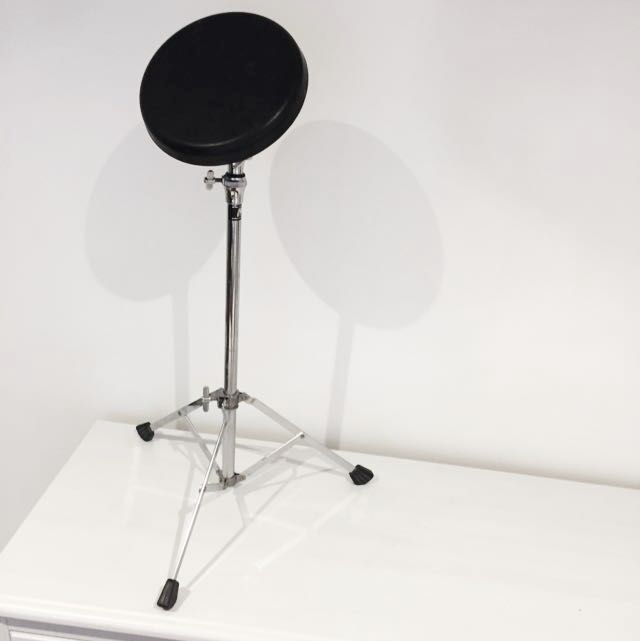 "8"" Drum Practice Pad with Stand"