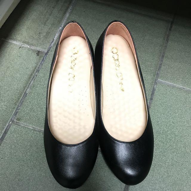 黑色包鞋 台灣製造 娃娃鞋