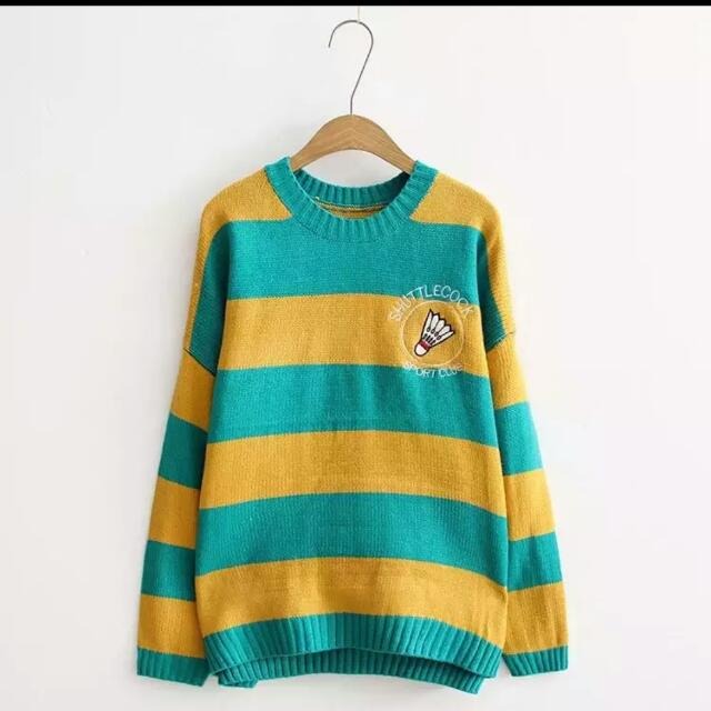 可愛羽毛球毛衣