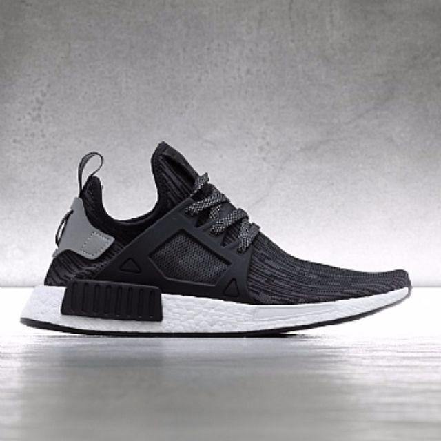 fac4d4e12eca NMD XR1 PrimeKnit. Adidas Dark Grey Glitch. UK 10