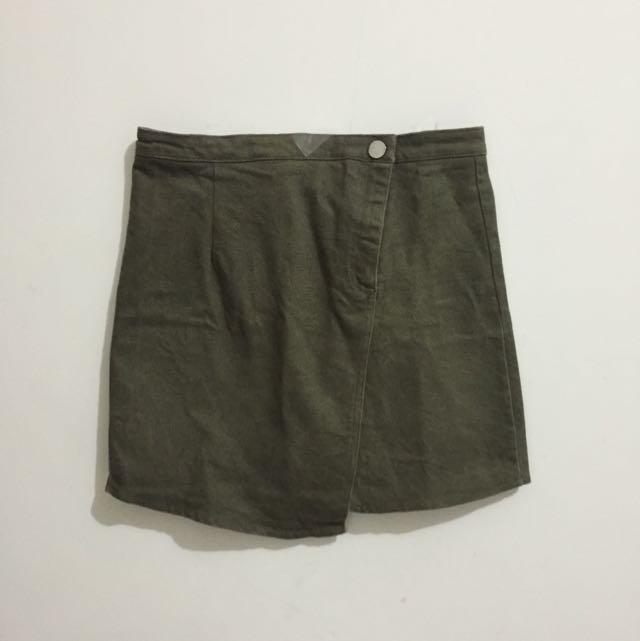 Reprice Army Skirt