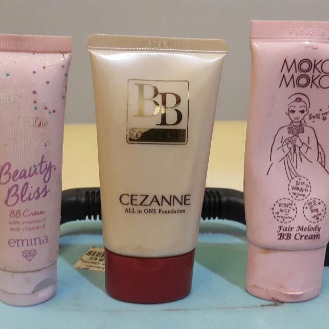 BB Cream Packages