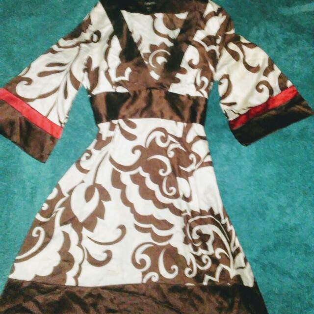 Bebe 96% Silk Dress