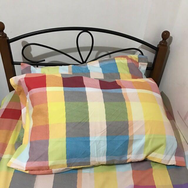 Bed frame (reserved)