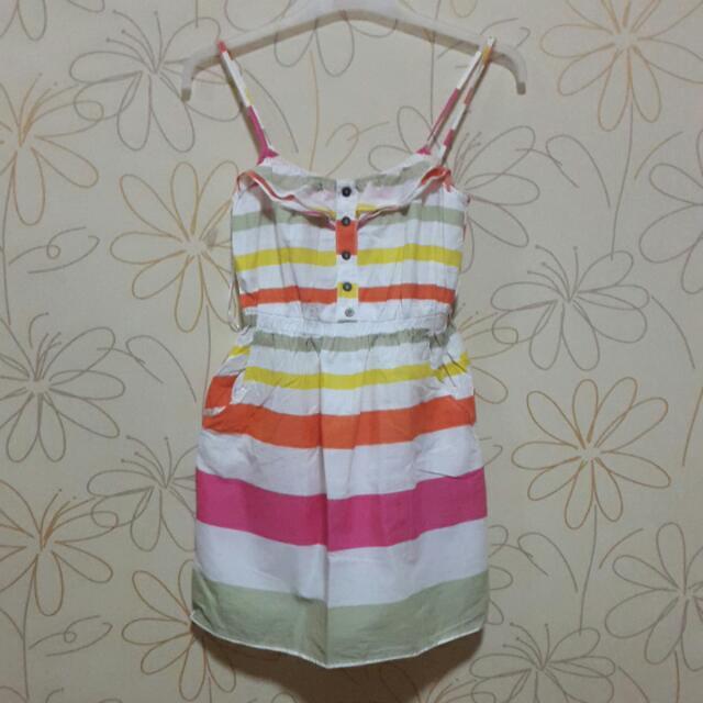 Bershka Mini Dress Colorful